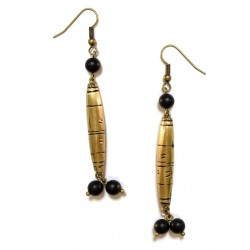 - Sidy - boucles d'oreilles perles africaines